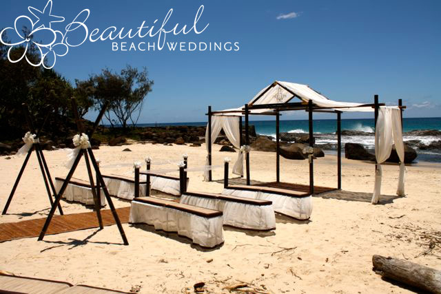Froggy Beach Wedding