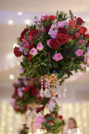 Peta-&-Dave-marriott-wedding-reception-styling-white-gold-candelabra-fresh-flowers-florals-centrepiece