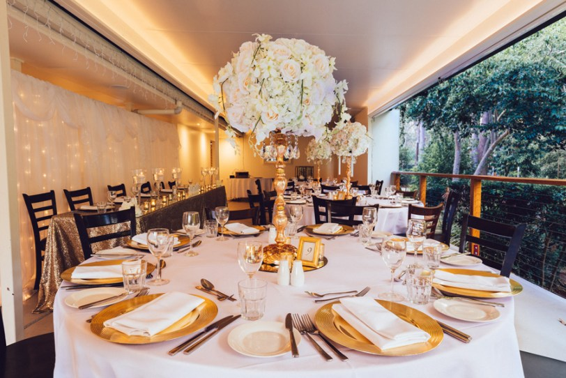 Woodford Gardens - Gold Room Styling