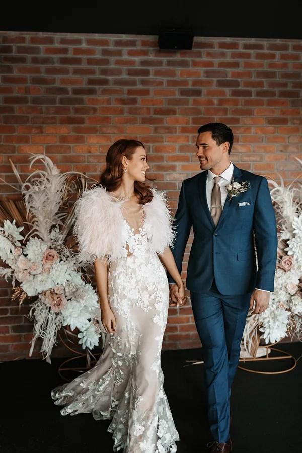Blackbird-wedding-ceremony-styling-gold-circular-arch-faux-floral