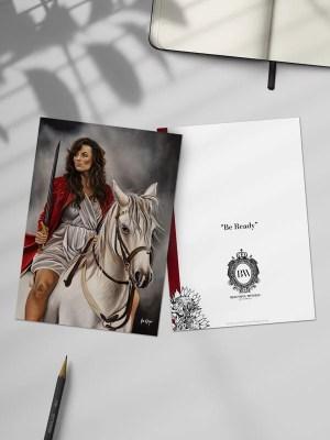 Be Ready Greeting Card by Ilse Kleyn