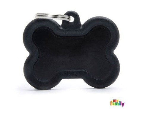 picture of black bone hushtag name tag