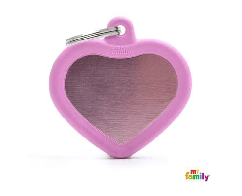 picture of pink heart hushtag