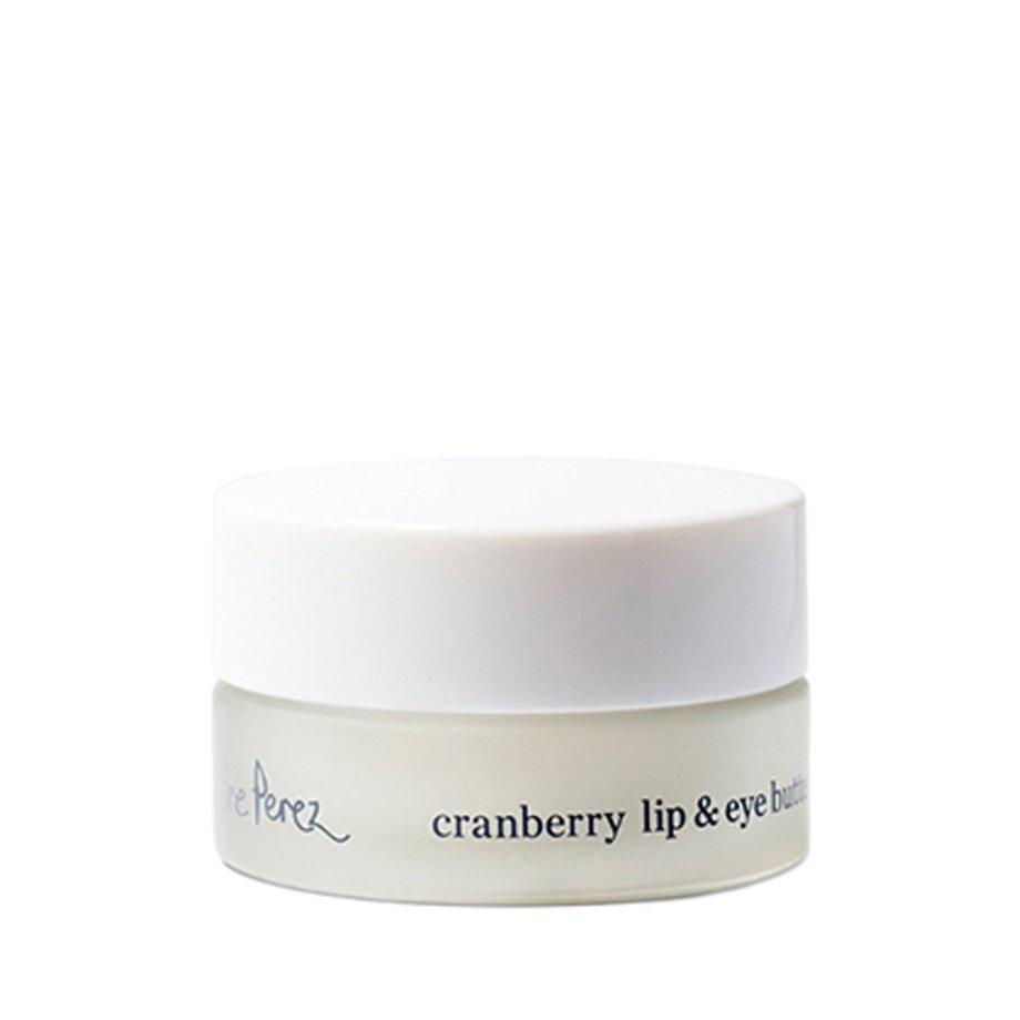 Ere Perez Cranberry Lip & Eye Butter silmänympärysvoide ja huulivoide