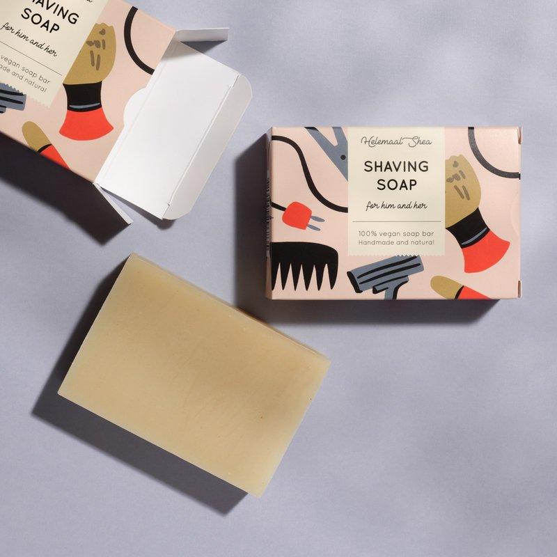 HelemaalShea vegaaninen ja luonnollinen sheivaussaippua Shaving Soap