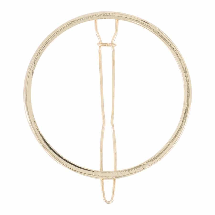 Bachca round barrette emma ympyrän muotoinen hiuspinni, hiuskoriste, hiusklipsi