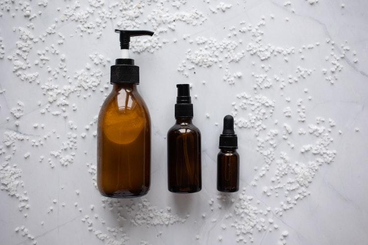 Umectação com óleo de rícino