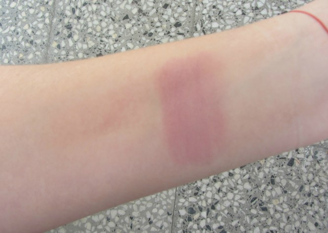 urban decay afterglow rapture blush swatch