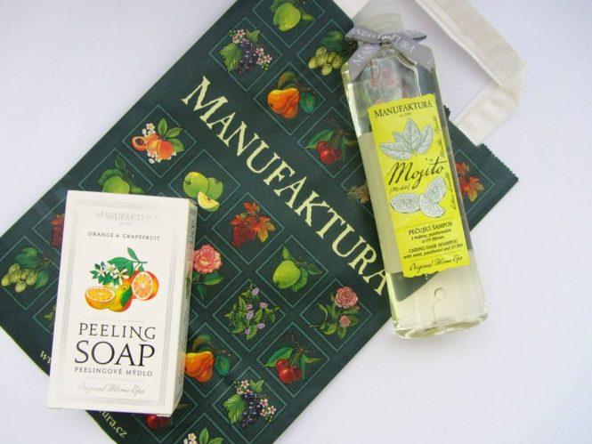 manufaktura peeling soap mojito shampoo