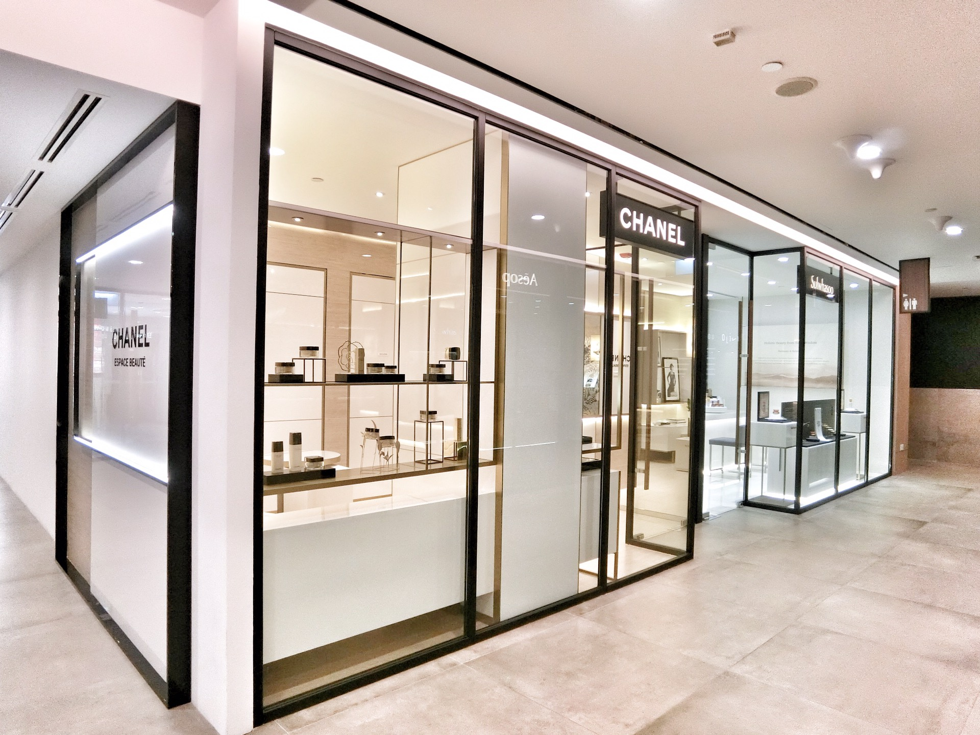 Three Cosmetics launches in Singapore at Tang Plaza, Orchard