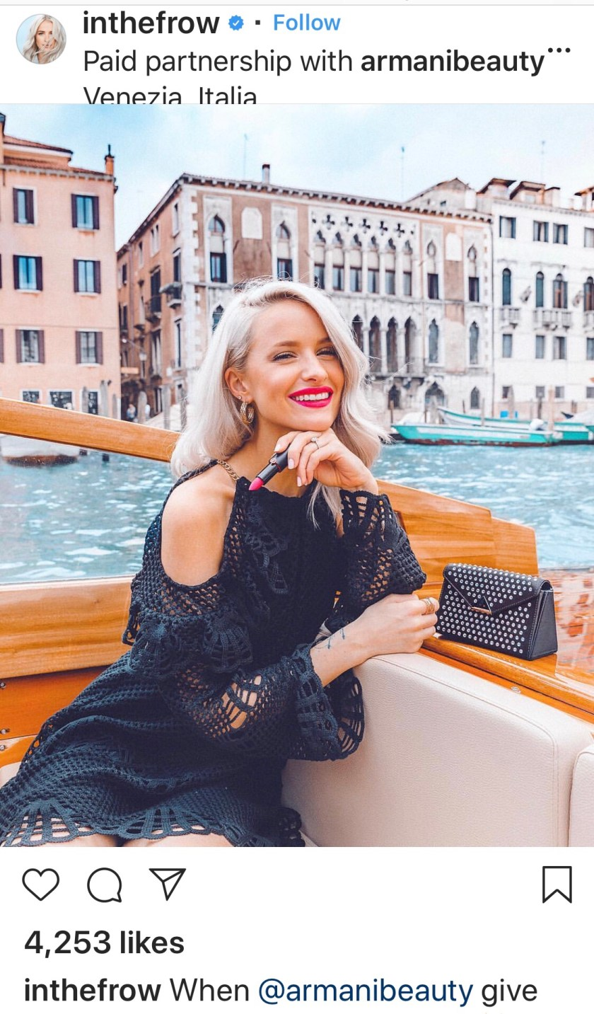 Instagram/ @inthefrow