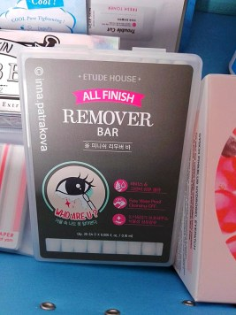 ETUDE HOUSE All Finish Remover Bar Easy Water Proof Cleansing OFF Remove Makeup