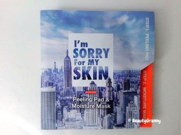 I'm Sorry For My Skin Peeling Pad & Mois