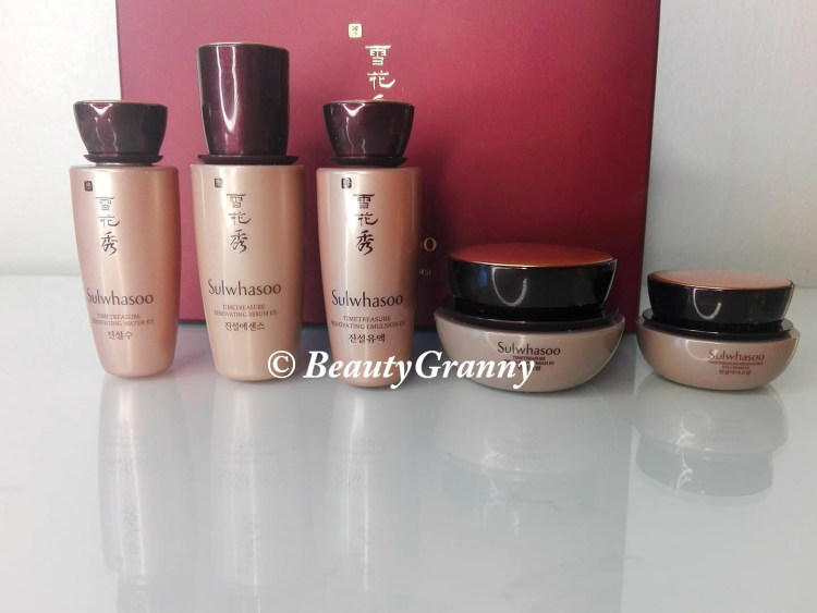 Sulwhasoo Timetreasure отзыв