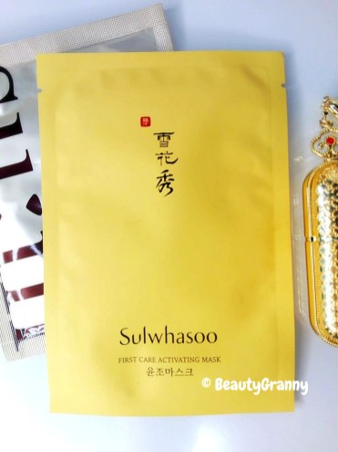 Sulwhasoo First Care Activating Mask отз