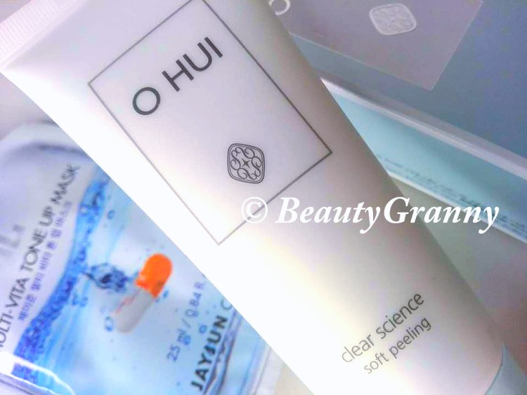 OHUI Clear Science Soft Peeling отзыв