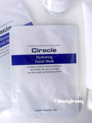 Ciracle Hydrating Facial Mask отзыв
