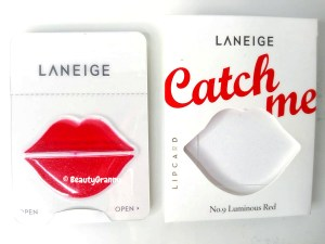 [Laneige] Lip Card - Compacted Lipstick