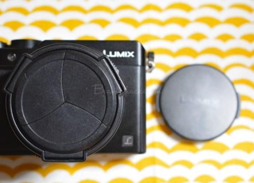 DMC-LX100  自動開閉レンズカバー