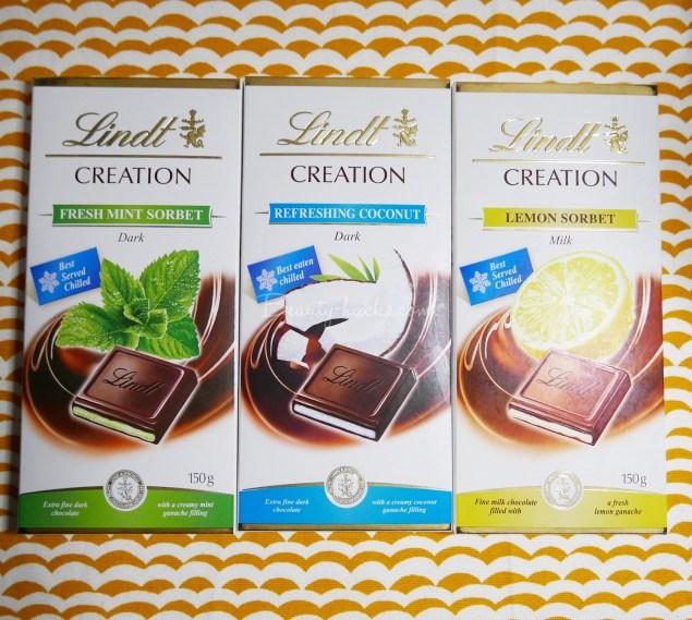 リンツ夏限定チョコレート