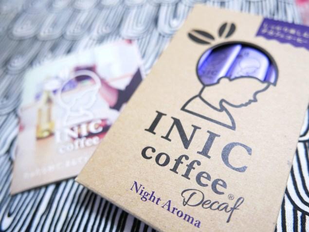 INICコーヒーナイトアロマ