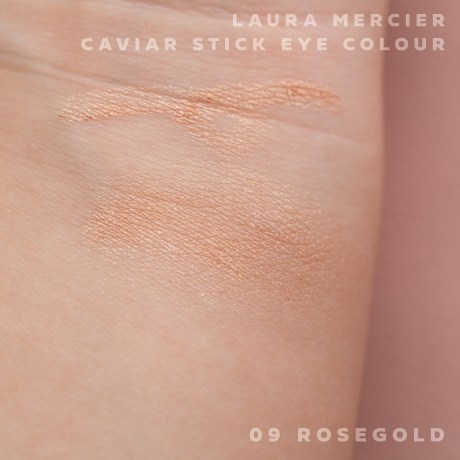 キャビアスティックアイカラー 09 ROSEGOLD シマーゴールド×ピンクパール