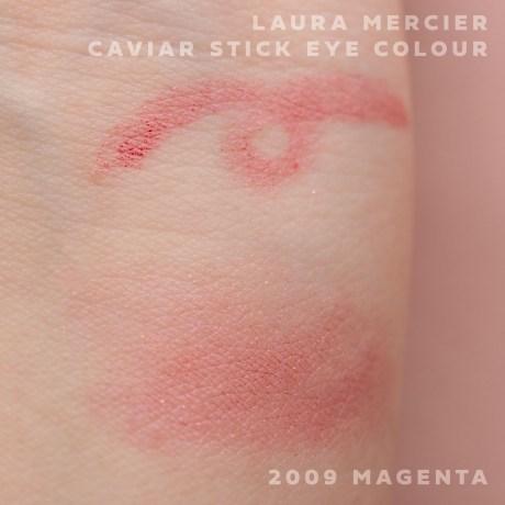 キャビアスティックアイカラー 2009 MAGENTA シアーレッド×ピンクシマー