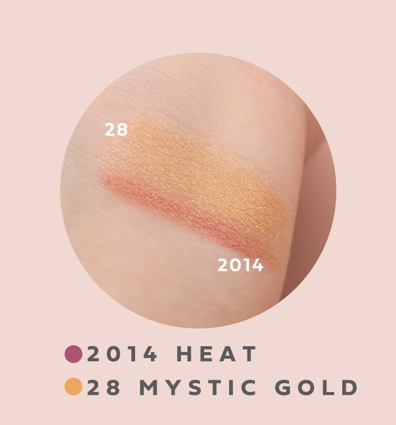 キャビアスティックアイカラー 2014 HEAT 28 MYSTIC GOLD
