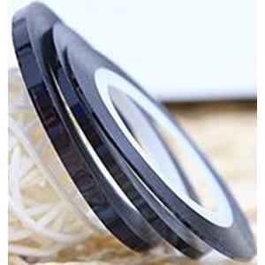 03 BLACK NAIL ART DESIGN LINE 1mm