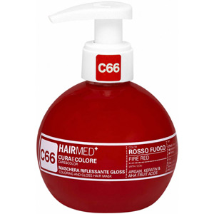C66 FIRE RED CARE & COLOR GLOSS MASK 200ml