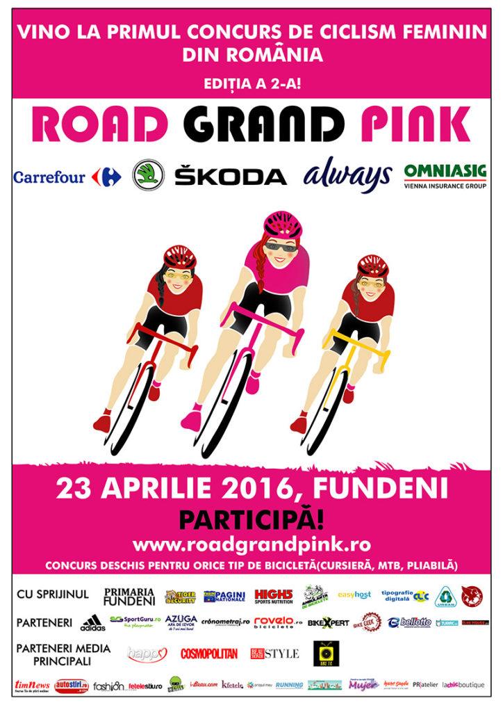 Road Grand Pink 2016: premii de peste 6000 de EURO și un nou traseu in FUNDENI