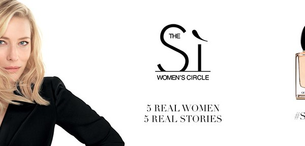 Giorgio Armani inovează prin crearea Sì Women's Circle