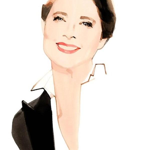 Lancôme anunță cu o nouă colaborare cu Isabella Rosselini