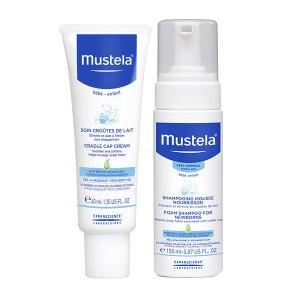 Mustela Set tratament împotriva scuamelor de lapte