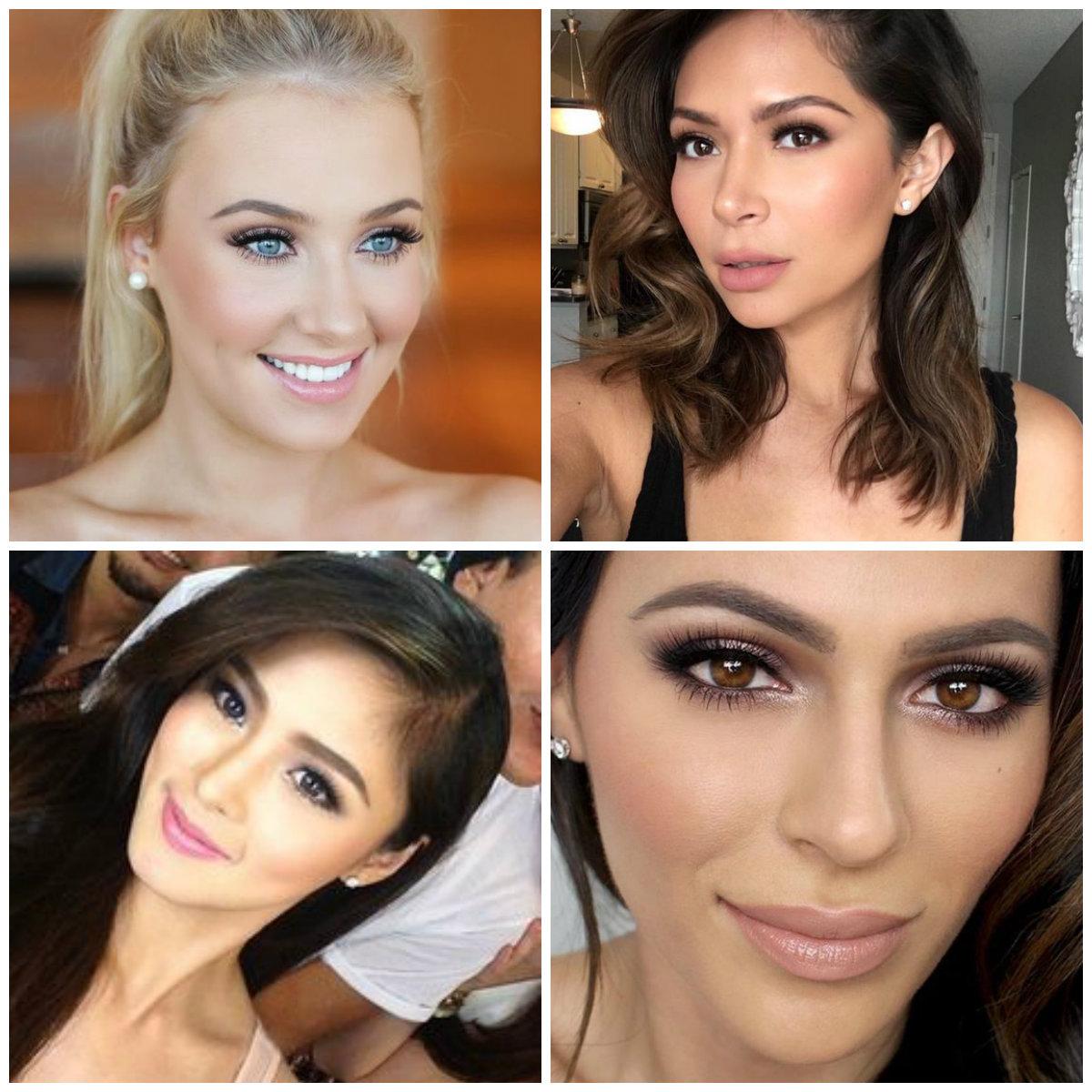 the beauty vanity wedding guest makeup inspiration pinterest