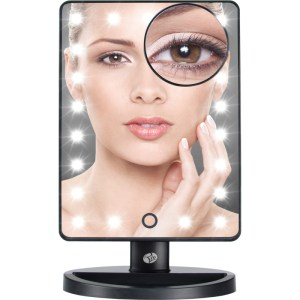 21 LED Touch dimbare Make-up spiegel