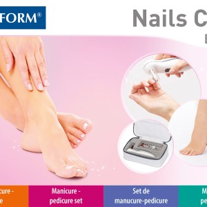 Lanaform Nails Care, Manicure & Pedicure-set