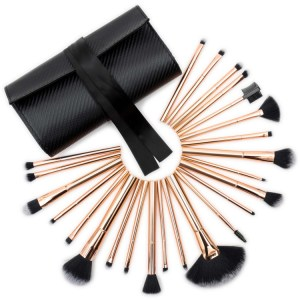 Rio Lush Rose Gold Make-up Brush Collection kwasten 24 stuks