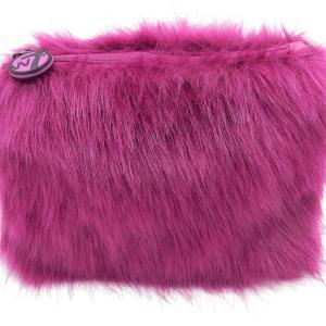 W7 Fluffy/Furry Make-up Tasje - Purple
