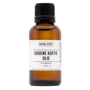 Groene Koffie Olie (Koudgeperst)
