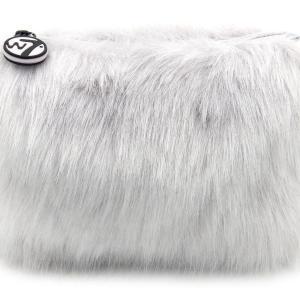 W7 Fluffy/Furry Make-up Tasje - Grijs
