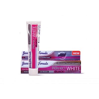 Beverly Hills Formula Tandpasta Perfect White Black Sensitive 125ml