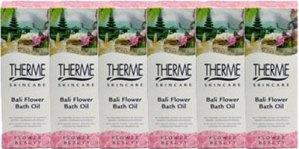 Therme Bali Flower Badolie Voordeelverpakking 6x100ml
