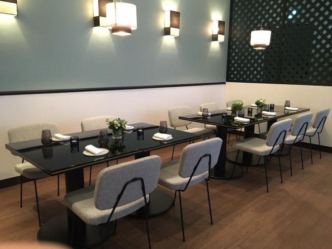 ELLEcafe青山店レストランフロア