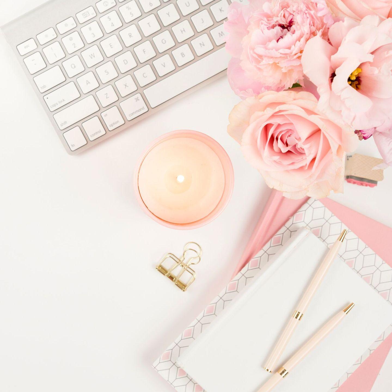 Pretty Pink Desk