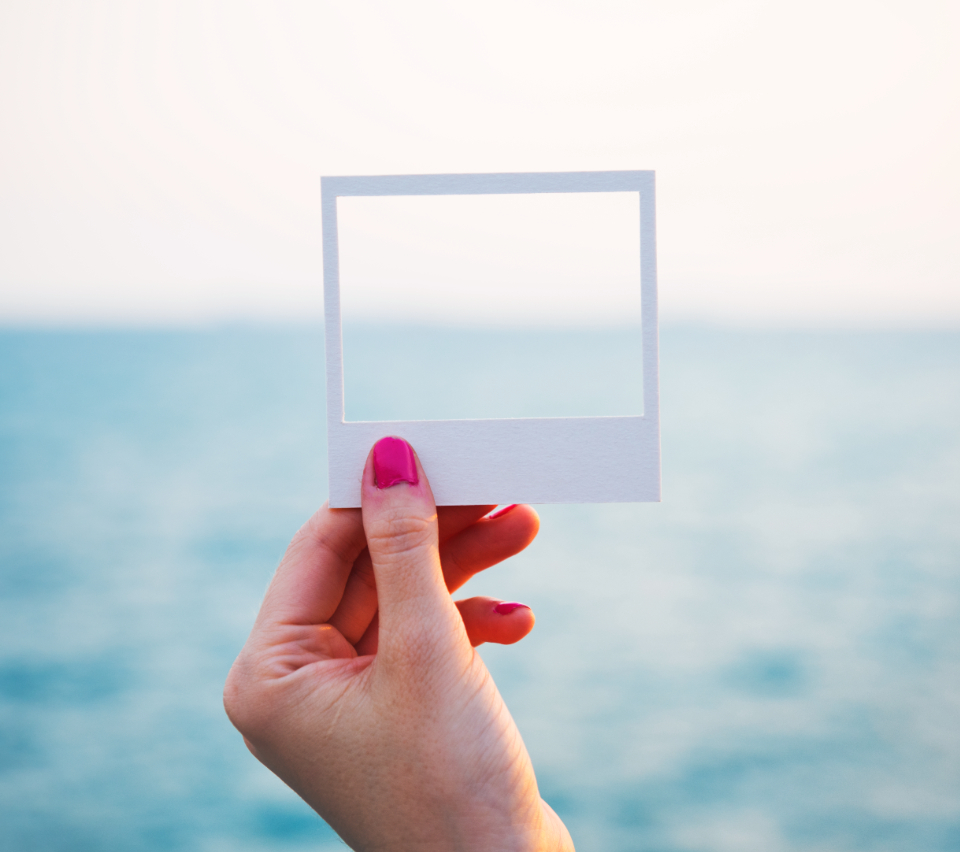The Ocean through a frame