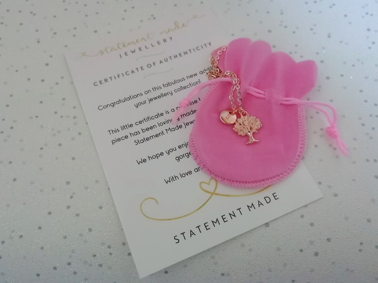 Necklace from Statement Made Jewellery