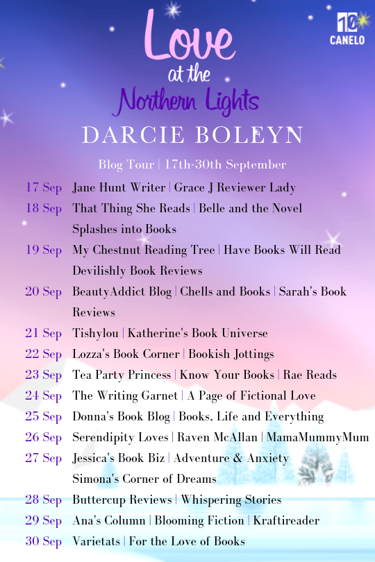 Love at the Northern Lights blog tour (