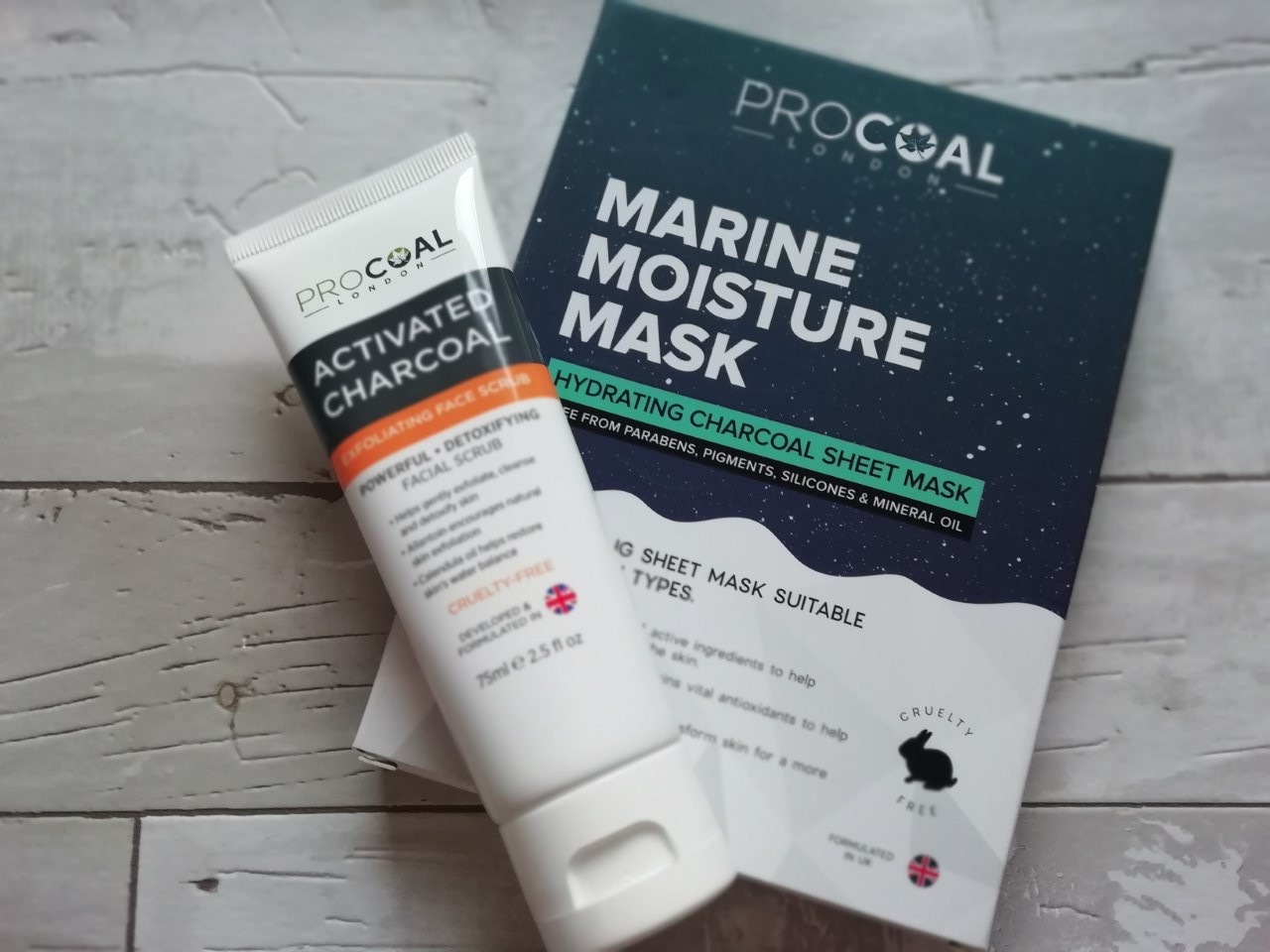 Procoal Scrub and Mask