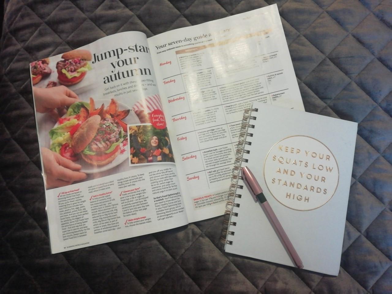 Slimming World recipe planning